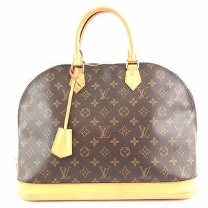 Alma Gm Large Handbag Canvas Satchel